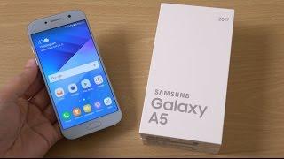 getlinkyoutube.com-Samsung Galaxy A5 2017 - Unboxing & First Look! (4K)