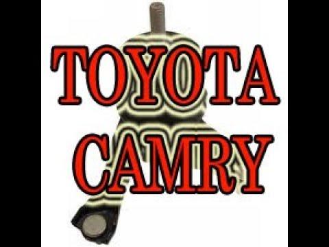 Вибрация двигателя. Toyota Camry замена подушки двигателя. #АлексейЗахаров. #Авторемонт