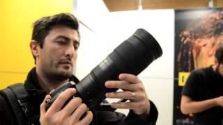 getlinkyoutube.com-New Nikon 300mm f/4E PF ED VR  & Nikon 200-500mm f/5.6E ED VR quick hands on video
