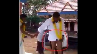getlinkyoutube.com-Funny Mistake in kerala wedding