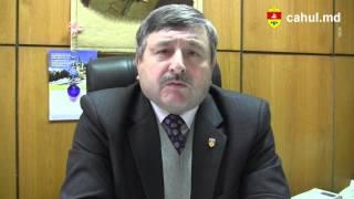 Felicitarea lui Avram Micinschi, Preşedintelui Raionului Cahul cu ocazia noului an 2014