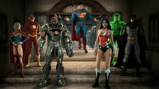 getlinkyoutube.com-Justice League : Alien Invasion 3D ride-through at Warner Bros. Movie World
