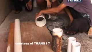Redaksi Pagi Trans7 - Sentuhan Artistik Paralon Bekas Menjadi Perkakas Mahal