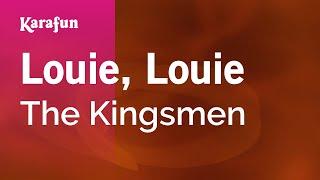 getlinkyoutube.com-Karaoke Louie, Louie - The Kingsmen *