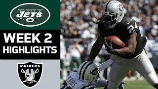 Jets vs. Raiders   NFL Week 2 Game Highlights