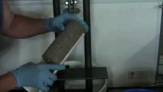 getlinkyoutube.com-Homemade electric paper briquette maker paper log maker