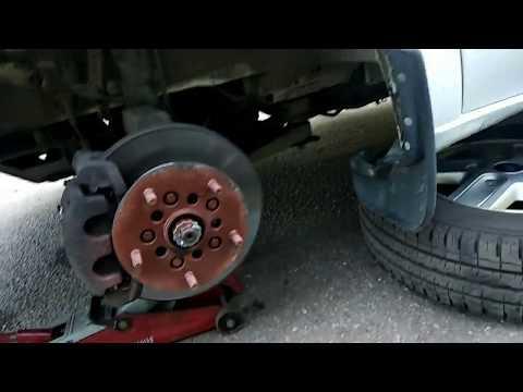 Правильная замена передних тормозных колодок Форд Транзит 2.4-2.2. тормозныеколодки фордтранзит