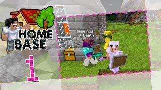 getlinkyoutube.com-【Home Base】 多人生存 #01 - 歡迎來到我們的 Minecraft 新居!