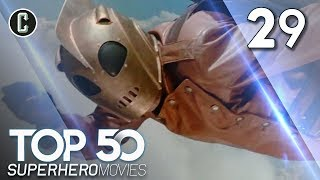 Top 50 Superhero Movies: The Rocketeer - #29