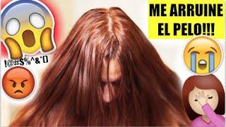 getlinkyoutube.com-ME QUEDO EL CABELLO NARANJA!!! :( ♥BeautybyNena