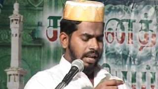 getlinkyoutube.com-Tamil Bayan - Rasool S.A.W medhu anbu,, iman in puranam -Sunnath Jamath Aikkiya Peravai - Mumbai