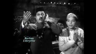 Qawali: Dam Mast Qalandar Ali Ali, Ahmad Rushdi, Munir Hussain, Film Jalwa (1966)