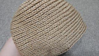Como tejer Gorra Espiral Crochet