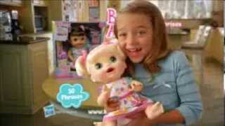getlinkyoutube.com-TV Commercial - Hasbro - Baby Alive - Real Surprises Baby - Like A Real Child