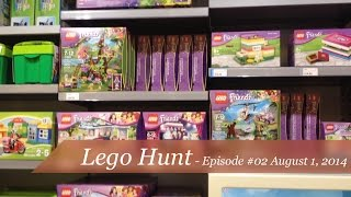 getlinkyoutube.com-Lego Hunt - Episode #02 - Hunt for Exo-Suit and Lego Friends sets
