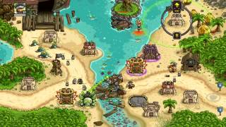 getlinkyoutube.com-Kingdom Rush Frontiers Walkthrough Level 16 Port Tortuga [Normal] [3 Stars]
