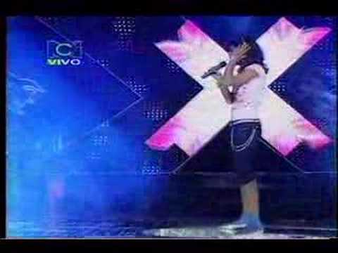 Greeicy Gala 1 Factor Xs Colombia 2007