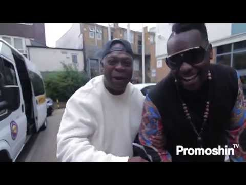 Silvastone and Chaka Demus Link up in London @Silvastonebeats