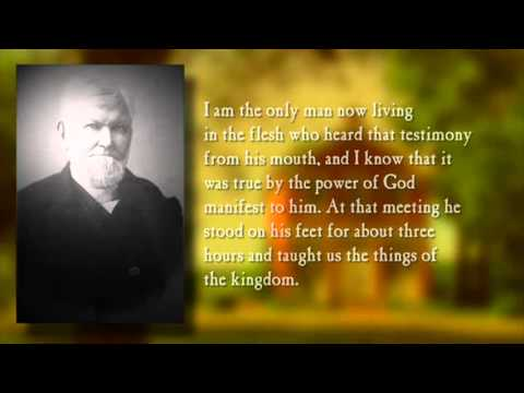 Wilford Woodruff Shares His Testimony