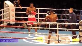 getlinkyoutube.com-IZU UGONOH (POL) V  IBRAHIM LABARAN (GHA) - 1ST RND TKO