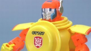 getlinkyoutube.com-CT157 変形!ヨーグルトロボ yoghourt robot
