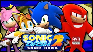 Sonic Dash 2 runner game per iOS e Android Gameplay- AVRMagazine.com