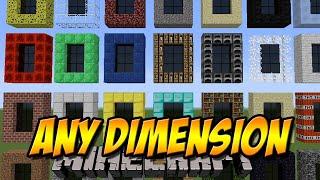 getlinkyoutube.com-37 NEUE DIMENSIONEN | Any Dimension Mod | Minecraft Mod Review [DEUTSCH]