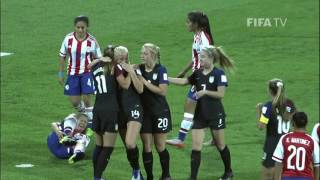 Match 7: USA v Paraguay - FIFA U-17 Women's World Cup 2016
