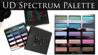 getlinkyoutube.com-New! Urban Decay Spectrum Palette Holiday 2015