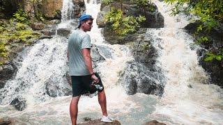 getlinkyoutube.com-FOUND A REMOTE WATERFALL - FLORES INDONESIA