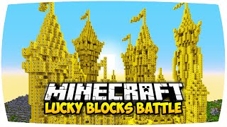getlinkyoutube.com-MINECRAFT: LUCKY BLOCKS CASTLE MOD PVP CHALLENGE ☆ GANZES SCHLOSS AUS LUCKY BLOCKS! (Deutsch | HD)