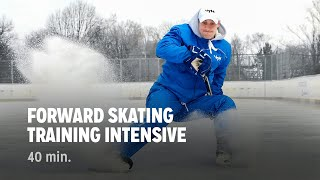 getlinkyoutube.com-iTrain Hockey Forward Skating Training Intensive - Train The Trainers + Practice Plan