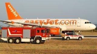 getlinkyoutube.com-Amazing EasyJet A319 Rejected Take Off at Split Airport SPU-LDSP !