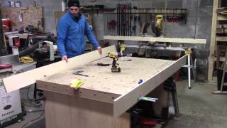 getlinkyoutube.com-006 - How to Construct a Router Sled for milling large boards