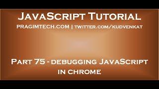 getlinkyoutube.com-Debugging JavaScript in chrome