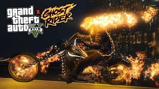 getlinkyoutube.com-GTA 5 Mods - ULTIMATE GHOST RIDER MOD!! GTA 5 Ghost Rider Mod Gameplay! (GTA 5 Mods Gameplay)