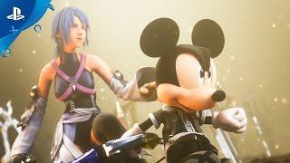 getlinkyoutube.com-KINGDOM HEARTS HD 2.8 Final Chapter Prologue - Simple and Clean Remix Trailer | PS4