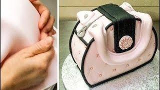 Easy Fondant Purse Cake - How To Make by CakesStepbyStep
