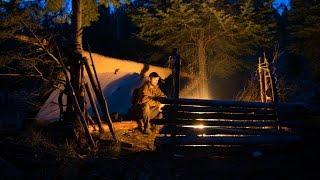 getlinkyoutube.com-Woodcraft Bushcraft Series Camp Improvements