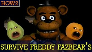 getlinkyoutube.com-HOW2: How to Survive Freddy Fazbear's! #FNAF