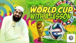 World Cup with a lesson - Smile 2 Jannah