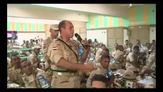 getlinkyoutube.com-مجند يلقي قصيدة مؤثرة عن الوطن أمام وزير الدفاع
