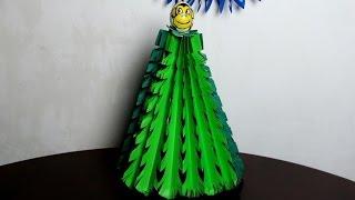 getlinkyoutube.com-Новогодняя елка своими руками