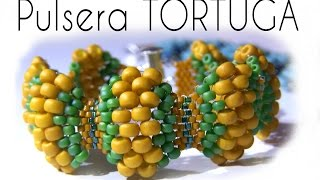 getlinkyoutube.com-Abalorios - Tutorial Pulsera Tortuga