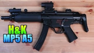 getlinkyoutube.com-Airsoft - Umarex H&K MP5 A5 Airsoft Gun Review & Gameplay (SC Village Viper Gameplay/Commentary)