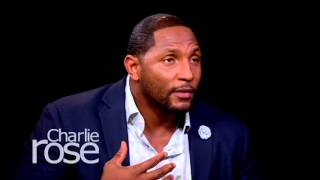 Ray Lewis: 'I'm Not Worried About Concussions' in the NFL (Oct. 20, 2015) | Charlie Rose