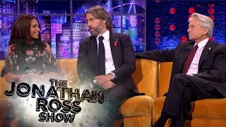 getlinkyoutube.com-Michelle Keegan, Michael Douglas and John Bishop's Proposal Stories - The Jonathan Ross Show