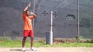 getlinkyoutube.com-Teknik Dasar Smash dalam permainan bola voli #PJKR'B2011