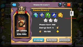 getlinkyoutube.com-Clash of Lords 2 - Farming for El Dorado Parts Weapons Thunder Blade Arcane Tome and Dragon Heart