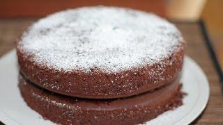 getlinkyoutube.com-Chocolate sponge cake,   - الطريقة الصحيحة لعمل جينواز الشكلاطة - La Génoise au chocolat